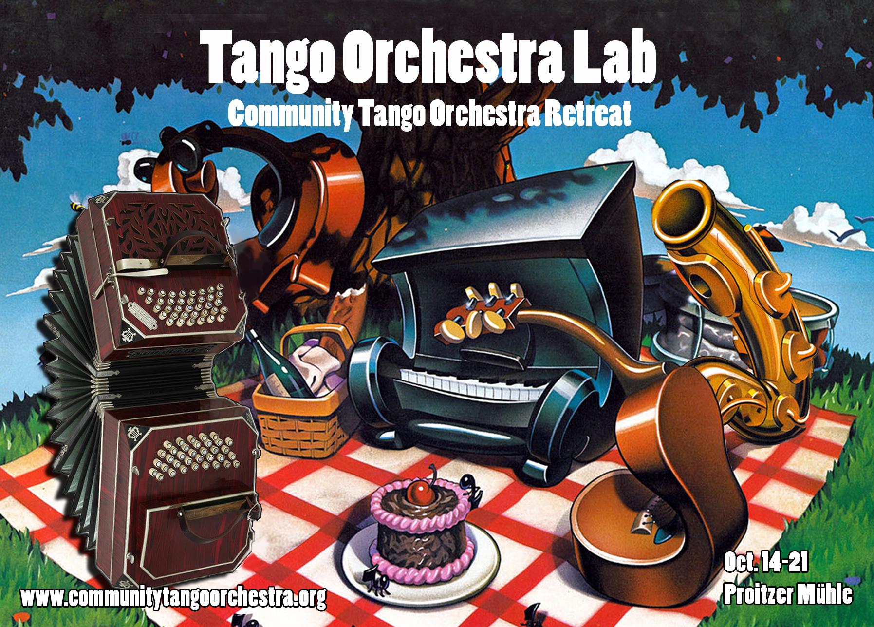 Tango Orchestra Lab (Community Tango Orchestra Retreat) Oct. 14-21