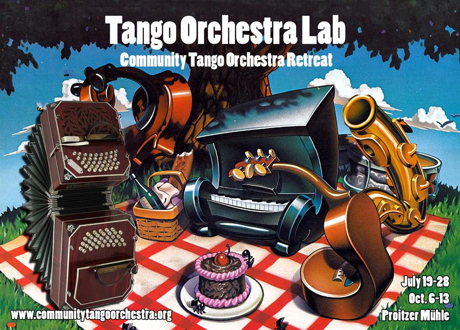 Tango Orchestra Lab (Community Tango Orchester Retreat)
